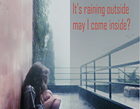 "Cover for the song ""It's Raining Outside"", Soko"