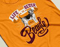 T-Shirt Design / Beagle