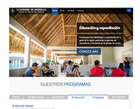 Web page La Esperanza del Mañana
