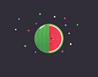 Vector Watermelon