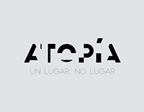 Tipografía - Logo - Atopía
