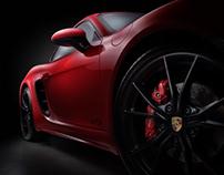 Porsche 718 Cayman & Boxster commercial shoot