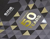 EME 50 Year Branding
