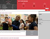 J&J Sponsored Website - New WordPress Website Design