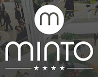 MINTO. Glowing support for Food Court concept.