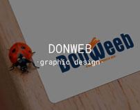 DONWEB. Logo