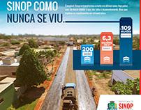Anúncio Prefeitura de Sinop