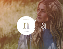 LOGO / NEW BRANDING DESIGN / NIA NATURAL STONES