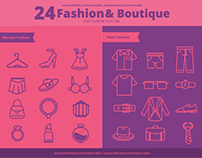 FREEBIES - Fashion And Boutique Outline Icon