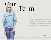 Izzy Landing Page/ Web Design