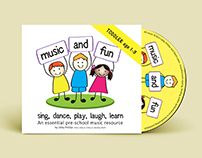 Music and Fun - CD Toddler and Kindy versions