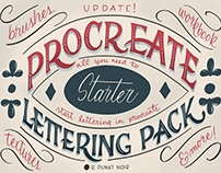 Procreate Lettering Starter Pack and Workbook
