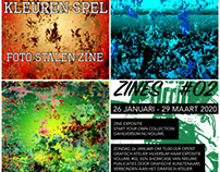 Kleuren-Spel Foto-Stalen-Zine