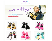 Product Photography for Veyo Mittyz