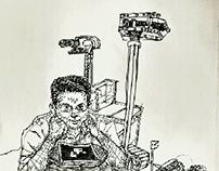 Arman Rezakhani & his Robots