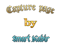 Capture page