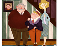 Various Harry Potter Illustrations