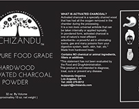 Charcoal Product Label For Amazon Sales