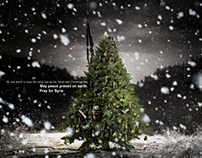Christmas Tree - May peace prevail on earth