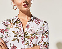 Floral Print for Cortefiel