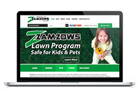 Zamzows Website Design