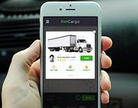 Hire Driver Screen App Design