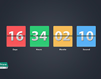 Freebie Countdown Timer  PSD
