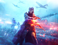 Battlefield V Key Art & Logo Design
