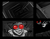 Catwoman Storyboard