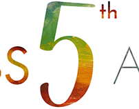 NOWNESS 5TH ANNIVERSARY LOGO