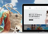 Fatla - Fashion eCommerce Page