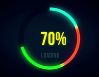 How to make Awesome progress bar in after effects | Tut