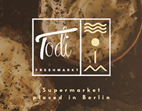 Todi Freshmarkt - Branding