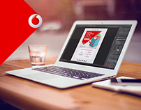 Vodafone IT, Email marketing design