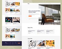 Blogy - Free Figma Blog Themplate