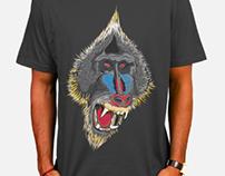 Mandrill tee shirt design