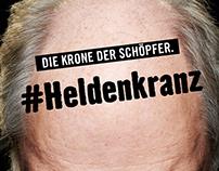 Commercial Retouch  Hornbach #heldenkranz