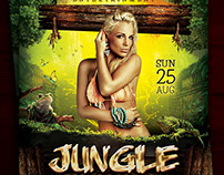 Jungle Sound Flyer Template