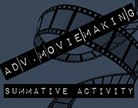 Adv Movie Making, Summative Activity