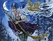 Fantasy watercolors