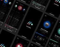 Radio/Podcast App UI Kit