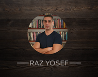 Web Design for Razyosef.com