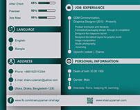 Resume Design or CV