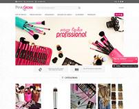 Loja Virtual Pink Gloss