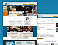Career College Website Redesign
