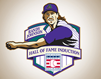 Randy Johnson Hall of Fame Induction Logo | MLB