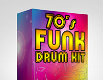 70s Funk Drum Kit - Samples