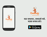 App Tutorial Animation for Cookants | English Version