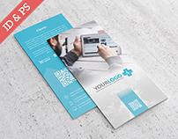 MedicalDec Trifold Brochure Template