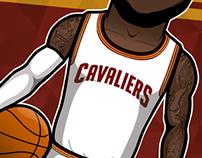 Famous NBA Players 2014/15